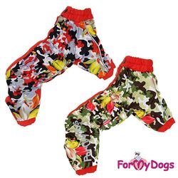For My Dogs | regndragt m. blomstret camo.