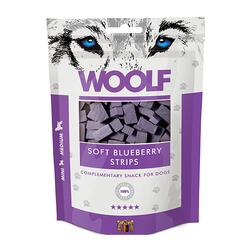 Woolf Soft Blueberry Strips | 100 gram