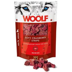 Woolf Soft Cranberry Strips | 100 gram