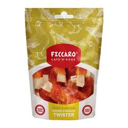 Ficcaro Chicken & Pollock Twister | 100g