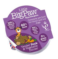 Tender Duck & Vegetable Dinner | Little Big Paw 85g