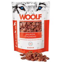 WOOLF Salmon Chunkies 100g