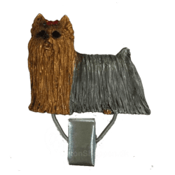 Nummerclips race: Yorkshire Terrier