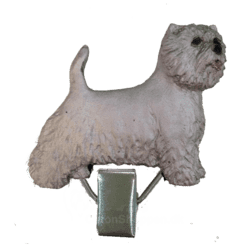 Nummerclips Race: West highland white-terrier