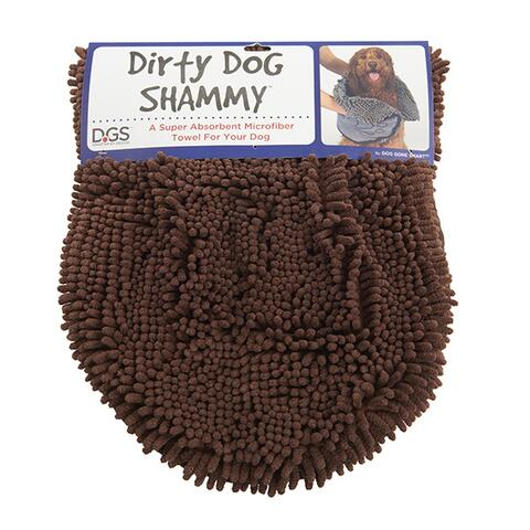 Dog Gone Smart Dirty Dog Shammy - brun