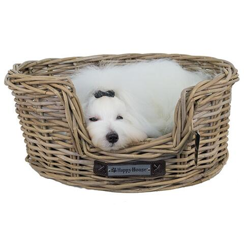 Happy House Rattan hundekurv | Oval
