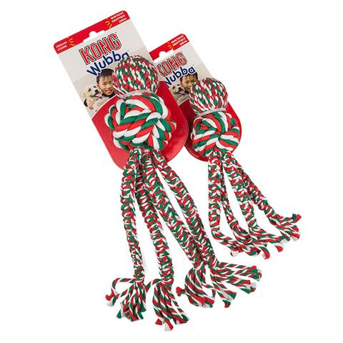 KONG Holiday Wubba Weaver