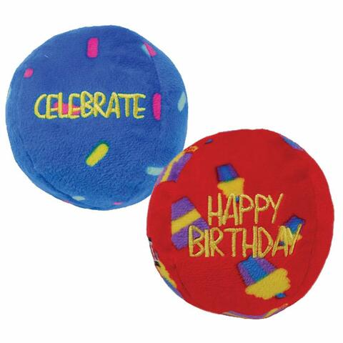 KONG Birthday Occations balls | 2 stk