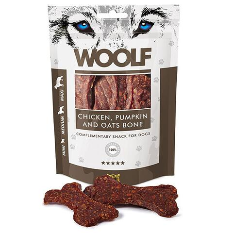 WOOLF Chicken, Pumpkin & Oats Bone | 100g