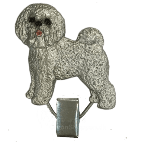 Nummerclips Bichon Frice