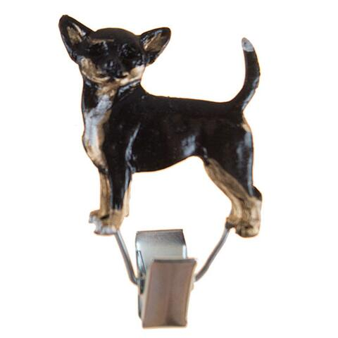 Nummerclips Race: Chihuahua Black and Tan
