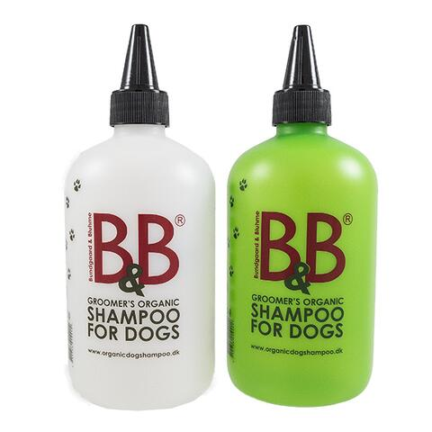 B&B mixerflasker til shampoo og conditioner