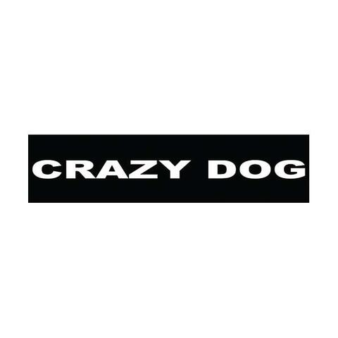 Velcro labels til Julius K9-sele - Crazy Dog | Hundesele