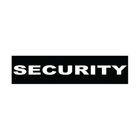 Velcro labels til Julius K9-sele - Security | Hundesele