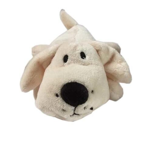 Cuddly Dog Mini Dogs med piv - creme | Hundelegetøj