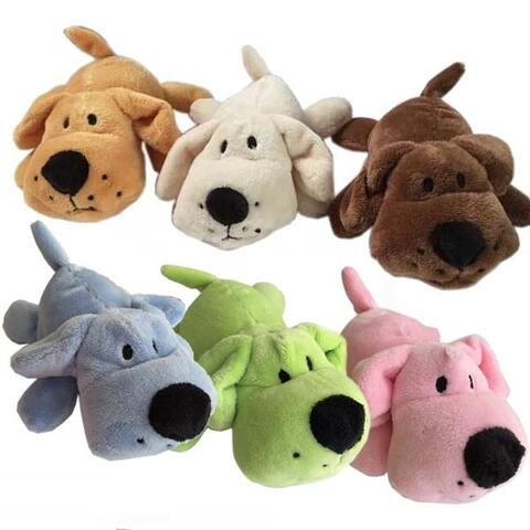 Cuddly Dog Mini Dogs med piv | Hundelegetøj