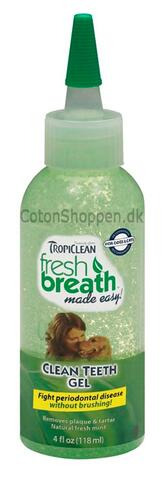 Tropiclean Clean Teeth Gel, 118 ml
