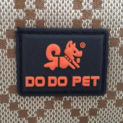 Do Do Pet transporttaske med forlommer | Logo