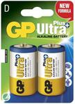 Batteri GP Ultra type D LR20 | 2 stk